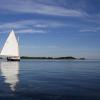 """Quiet Evening Sail"", photography by Anita Winstanley Roark.  Contact us for edition and size availability."